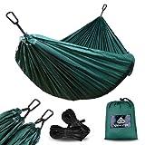 naturefun portatile ultraleggero 100% paracadute Nylon 500kg da viaggio campeggio amaca per backpacking, campeggio, caccia, Spiaggia, Yard