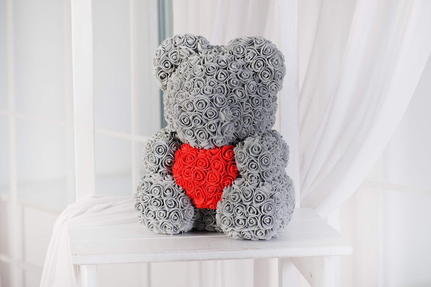 Winning a Heart - Granting Rose bears As Valentines Gifts
