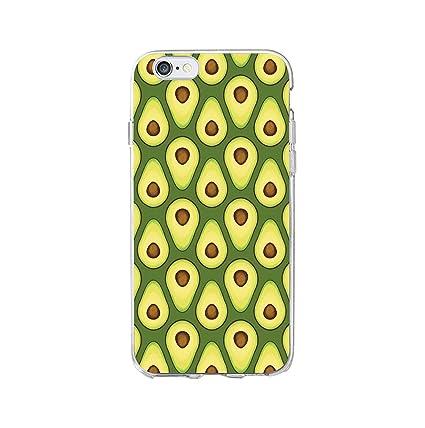 Amazon.com: Cute Avocado Food Pattern Soft Phone Case Cover ...