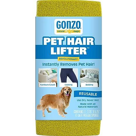 Gonzo elevador de pelo – quitar de mascota Perro, Gato Pelo de muebles, alfombras