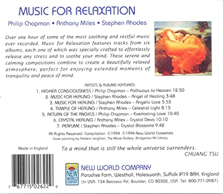 Music For Relaxation AmazonCoUk Music