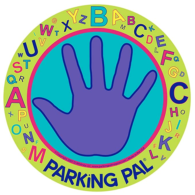 Parking Pal Car Magnet-Parking Lot Safety for Children (Alphabet 2017)