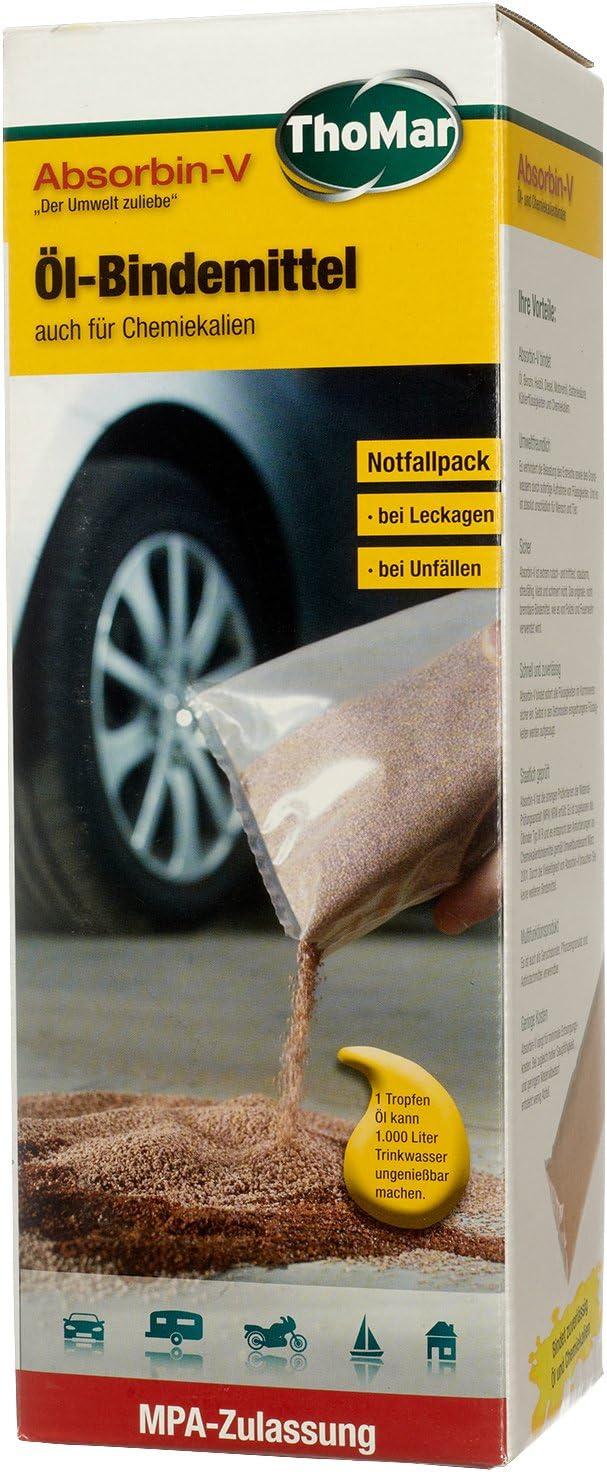 Thomar 400020 Öl Bindemittel Absorbin V Inhalt 1kg Auto