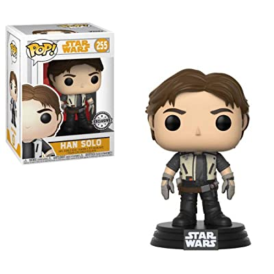 Funko POP! Star Wars Vinyl Bobble-Head Han Solo (Solo Movie) (Flight Outfit) #255 Exclusive: Toys & Games