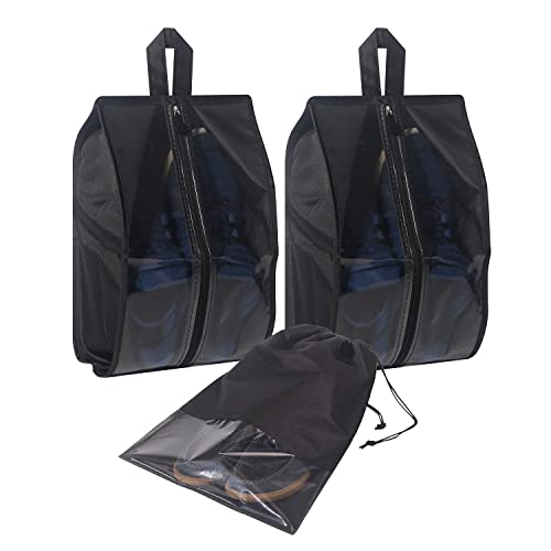 0cbb2b46a49d Amazon.com  3 PCS Travel Shoe Bags Waterproof Organizer Storage bag for Men    Women