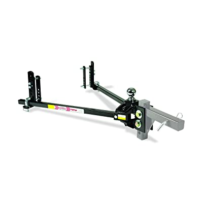 Equal-i-zer 4-point Sway Control Hitch, 90-00-1201, 12,000 Lbs Trailer Weight Rating, 1,200 Lbs Tongue Weight Rating, Weight Distribution Kit DOES NOT Include Hitch Shank, Ball NOT Included: Automotive