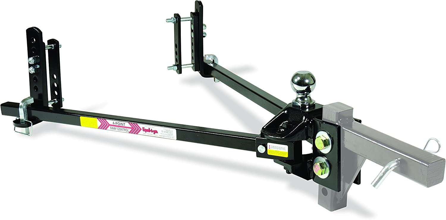 Ball NOT Included 1,200 Lbs Tongue Weight Rating Weight Distribution Kit DOES NOT Include Hitch Shank 90-00-1201 12,000 Lbs Trailer Weight Rating Equal-i-zer 4-point Sway Control Hitch