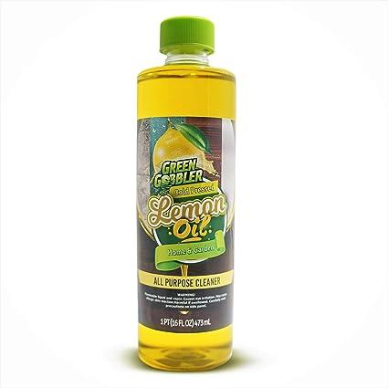 Puro Prensado En Frío Aceite De Limón Aceite Esencial De Limón Aceite De Limón Limpiador Y Desodorante 16 Onza Health Personal Care