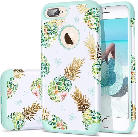 Meri Meri Pineapple Soft Silicone Phone Case to fit iPhone 6 7 /& 8
