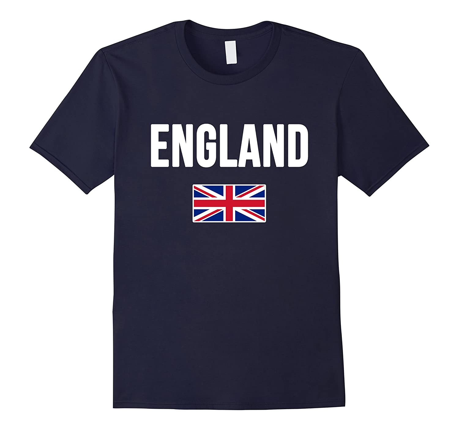 ENGLAND T-shirt British Flag English Tee Uk Souvenir Travel-TD