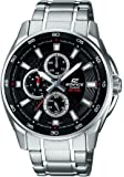 Casio Edifice Analog Black Dial Men's Watch - EF-334D-1AVDF (ED420)