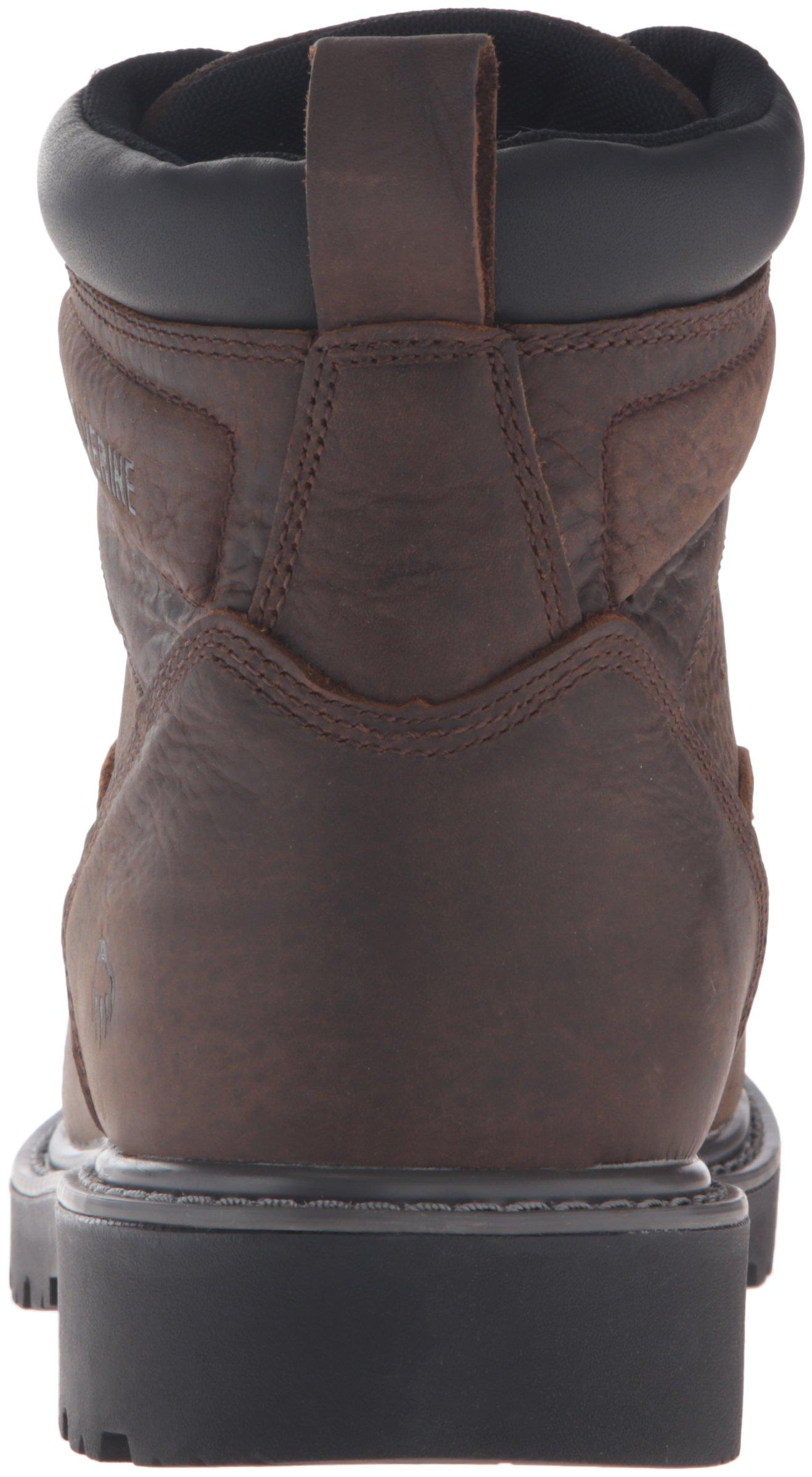 Wolverine Men's Floorhand 6 Inch Waterproof Steel Toe Work Shoe, Dark Brown, 9.5 M US by Wolverine (Image #2)
