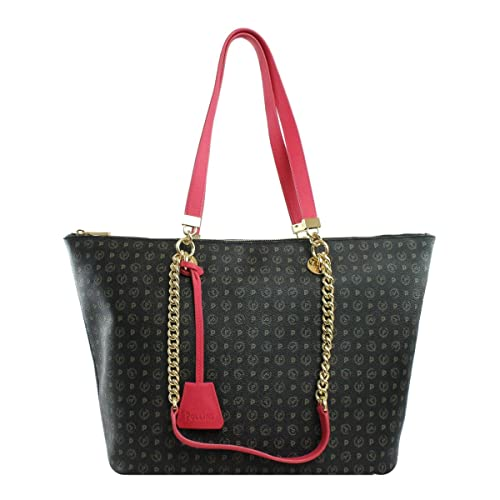 e11873530e Pollini BORSA DONNA SHOPPING BAG TAPIRO NERO/FUXIA TE8410 CO: Amazon.it:  Scarpe e borse