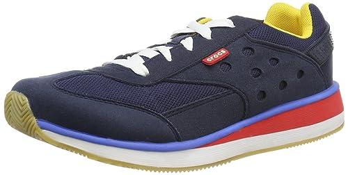 crocs Crocs Retro Sneaker M 14240-485 - Zapatillas de cuero para hombre: Amazon.es: Zapatos y complementos