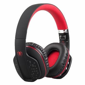 Auriculares Bluetooth, Zoron Auriculares de Juegos Inalámbricos / Alámbricos Auriculares Plegable con Micrófono Auricular Estéreo para PS4, Xbox One, ...
