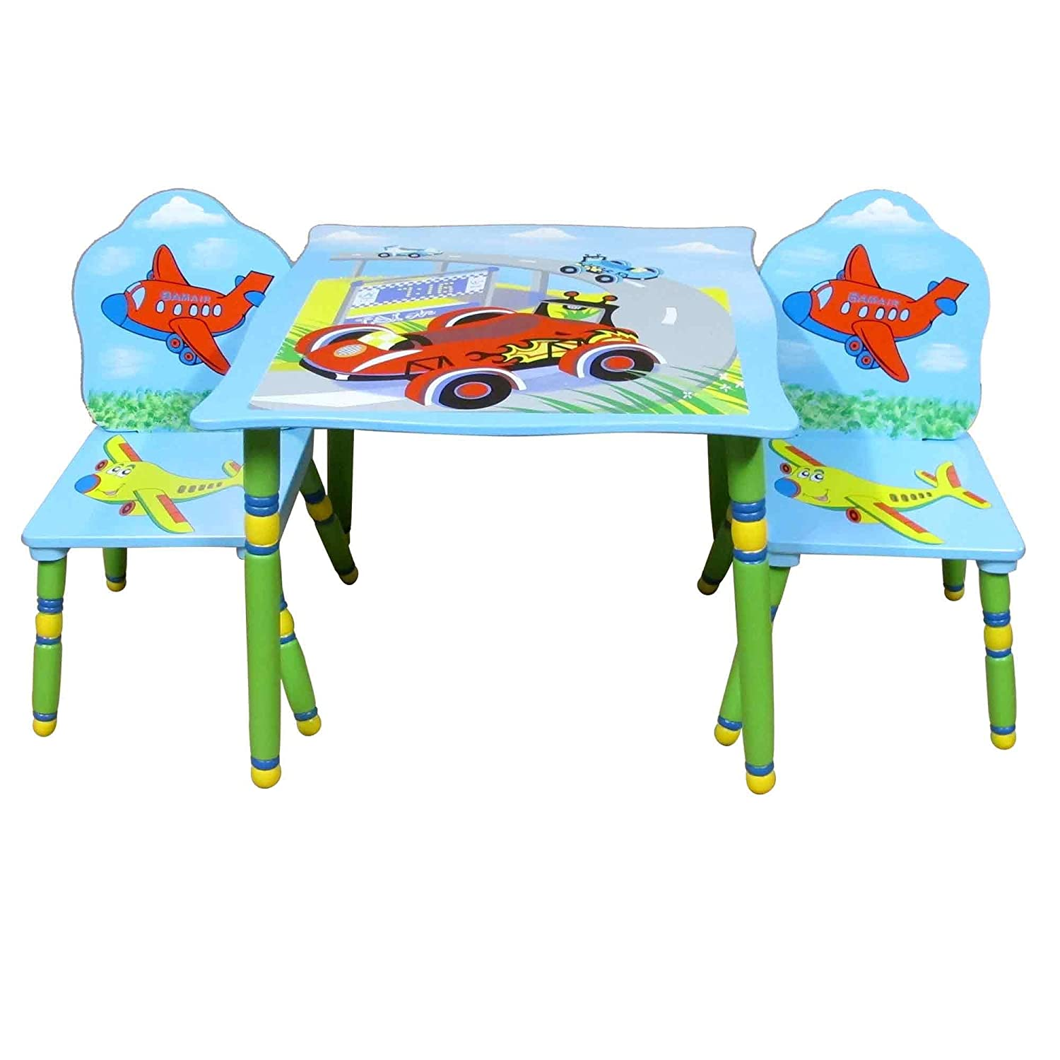 Liberty House Toys Transport Table and Chair Set LHT10032B