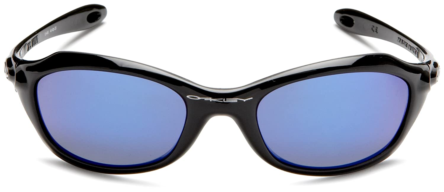 e0416dd4c39e6 Oakley XS FIVES (Youth fit) Black Blue Iridium lens 03-450 Black Frame