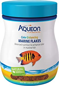 Aqueon Marine Flake Food Color Enhancing 1.02 Ounces