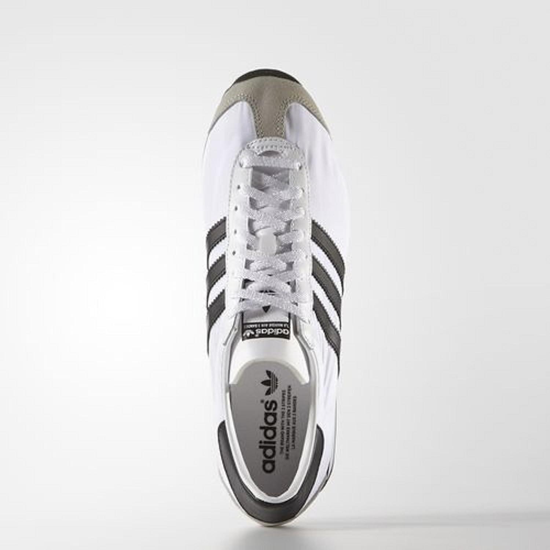 wholesale dealer f3039 f374c Adidas Mens Originals Country OG Trainers White Black Nylon Suede S79106  (11) Amazon.ca Shoes  Handbags