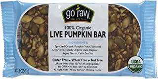 product image for Go Raw Bars - Pumpkin - 1.8 oz - 20 ct - 20 pk