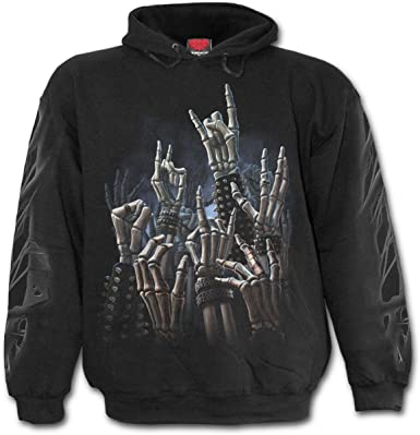 from The Grave Spiral Hoody Black