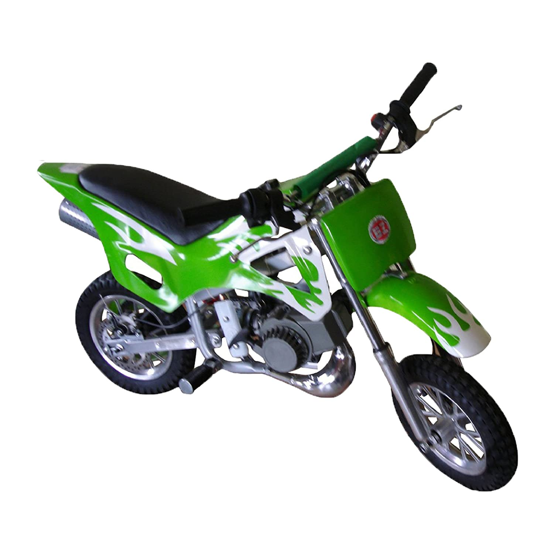 Pitbike mini 49cc Flames, con motor de 49cc de 2 tiempos automá tico/mini moto, mini dirt bike, minipitbike. con motor de 49cc de 2 tiempos automático/mini moto Hanking Planet d7-03