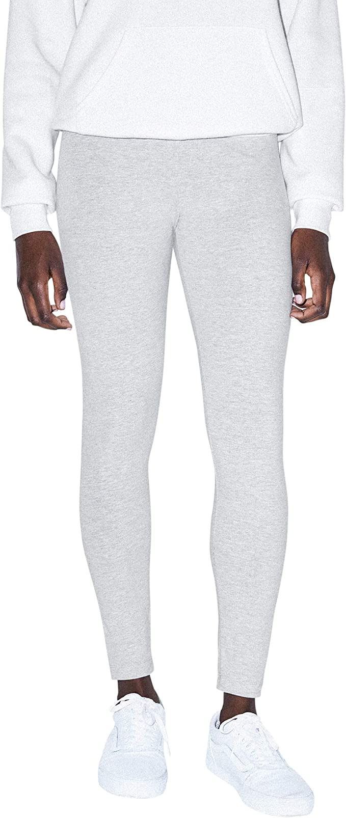 TALLA XS. American Apparel Womens Cotton Spandex Jersey Leggings (8328W)