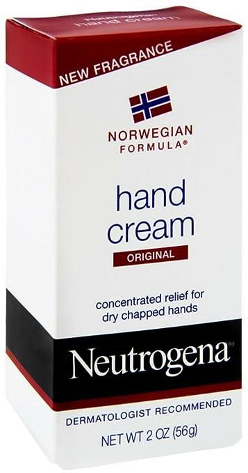 Neutrogena Norwegian Formula Hand Cream, 2 Oz Pack of 2