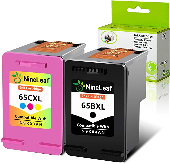 Ink Cartridge for HP 65XL 65 XL Deskjet 2652 2655 3720 3730 3732 3752 3755 3758