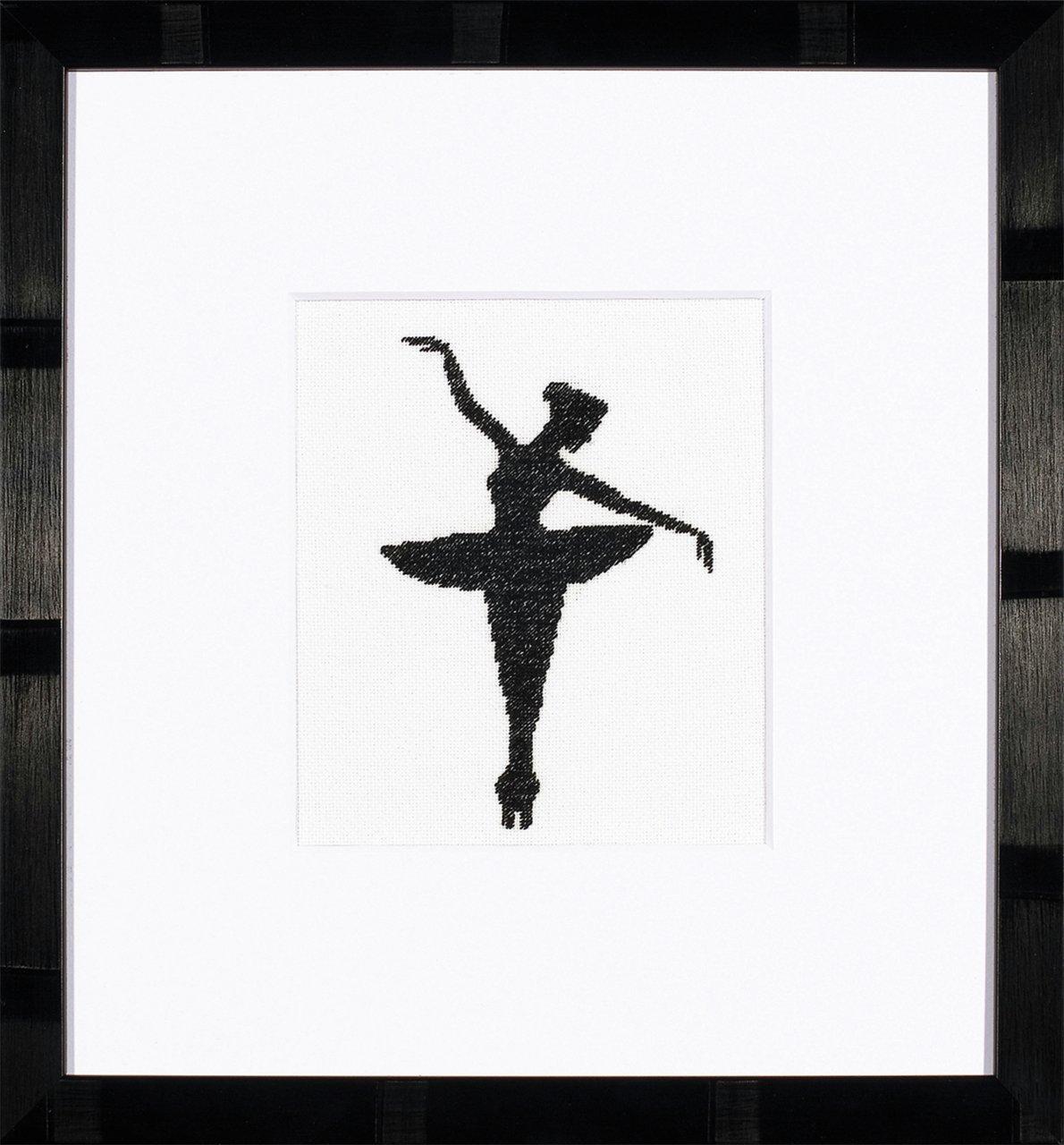 Unbekannt Kit au Point compté Silhouette Ballet I