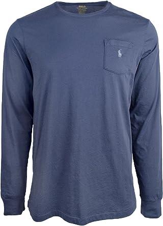 Polo Ralph Lauren Men's Custom Slim Fit Cotton Long Sleeve T-Shirt