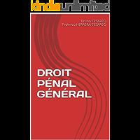 DROIT PÉNAL GÉNÉRAL (French Edition)