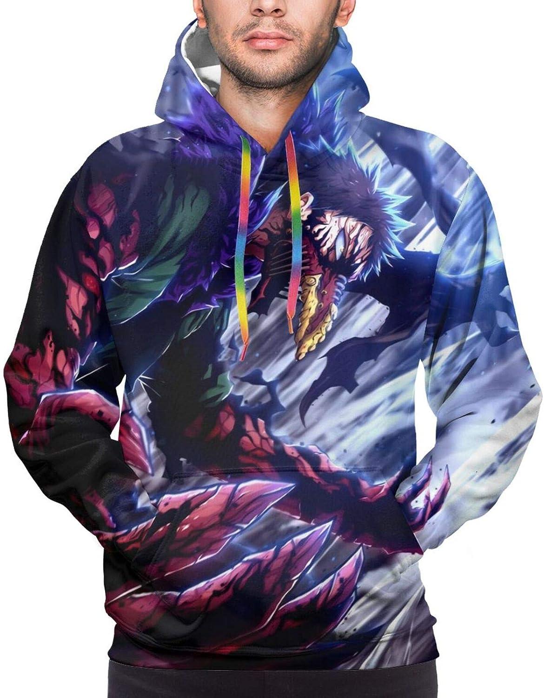 Unisex My Hero Academia 3D Printed Hoodie Pullover Sweatshirt Outwear Jacket