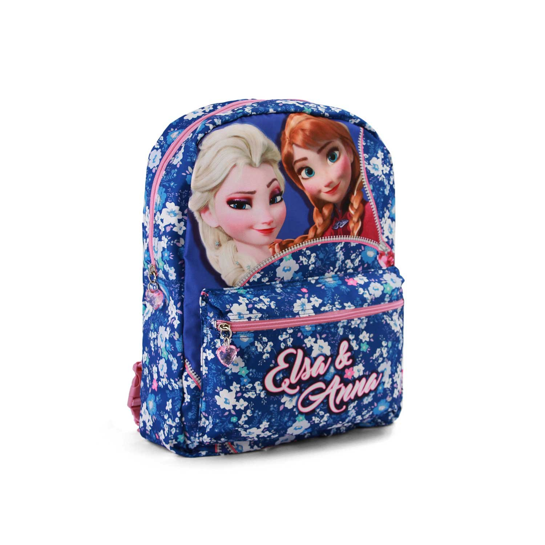 Karactermania Frozen Zipper Mochila infantil infantil infantil reversible, 40 cm, Multicolor 58573d