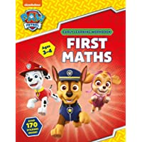 PAW Patrol First Maths Ages 3 To 4