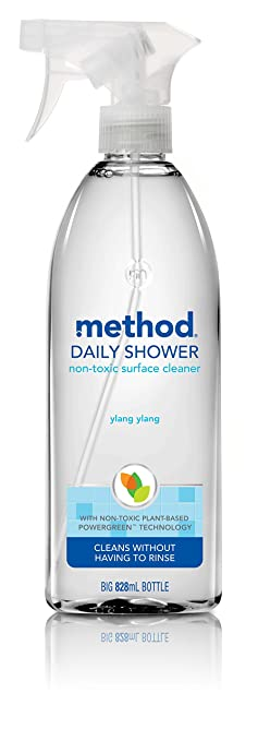 Method Daily Shower Surface Cleaner Spray, 828ml
