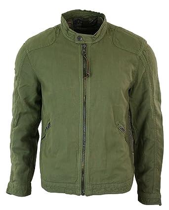 Mango Mens Zipped Linen Smart Casual Spring Summer Light Jacket