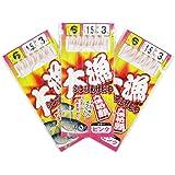 TAKAMIYA(タカミヤ) 大漁シンプルサビキ 3枚組 針6号-ハリス1.5号  ピンク