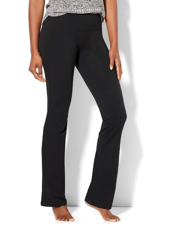 Womens Petite Bootcut Yoga Pant New York /& Co