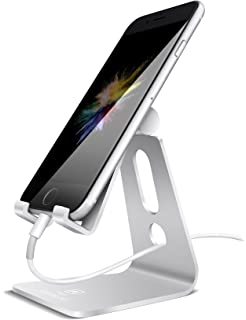 Charmant Adjustable Cell Phone Stand, Lamicall Phone Stand : [Update Version]  Cradle, Dock