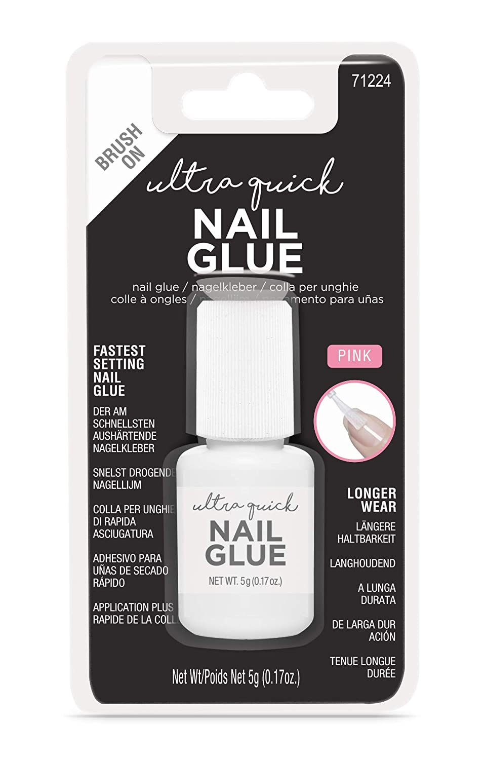 fashion nails by Fing'rs Ultra Quick Nail Glue, 2er Pack(2 x 1 Stück) 2er Pack(2 x 1 Stück) fashion nails by Fing' rs 71224