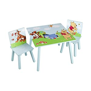 Delta Children - TT89314WP - Winnie l'Ourson - Table et Chaise