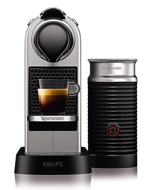 Nespresso Intenso Krups Citiz Milk XN760B Cafetera monodosis ...
