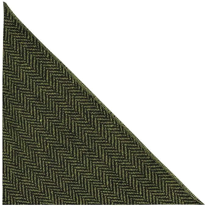 Amazon.com: Pepinillo verde y negro bolsillo cuadrado ...