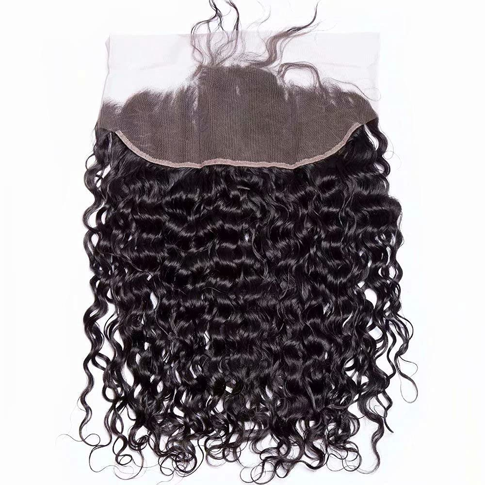 Maxine hair Water Wave Hair 13x4 New products, world's highest quality popular! Lace Super intense SALE To Frontal Ear Unproce