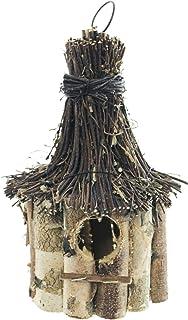 Vogelfutterhaus mit Ständer Birkenholz//Moos ca Dehner Natura 135 x 47 x 50 cm