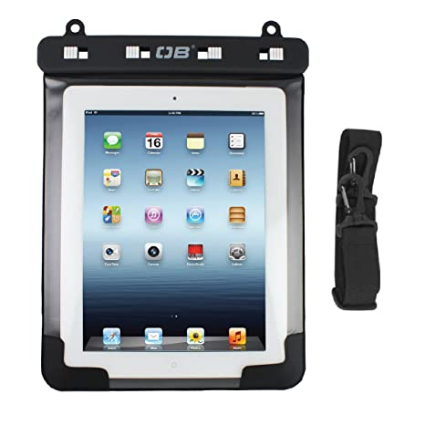amazon com overboard waterproof ipad case, black electronicsimage unavailable image not available for color overboard waterproof ipad case