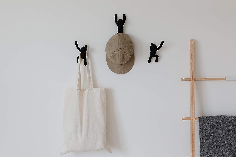 Amazon.com: Umbra Buddy Wall Hooks – Decorative Wall Mounted ...