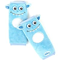 2-Pack Nuby Baby Car Seat Belt Strap Covers (Blue)