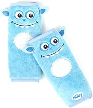 2-Pack Nuby Baby Car Seat Belt Strap Covers
